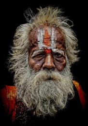 wandering sadhu in Trichy
