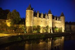 Floodlit Chateaux