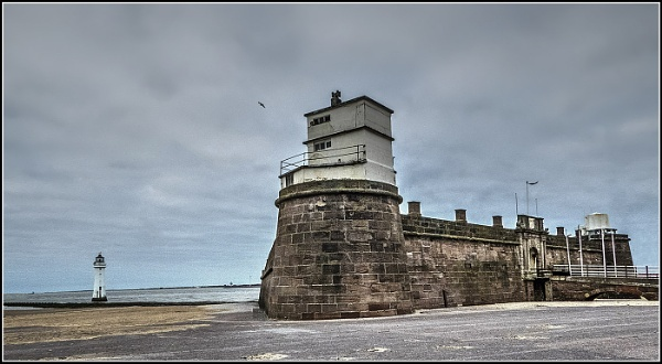 Fort Perch Rock by jcolind