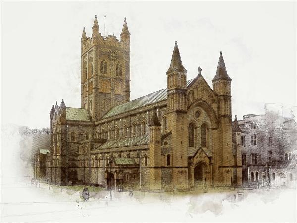 Buckfast Abbey by Robert51