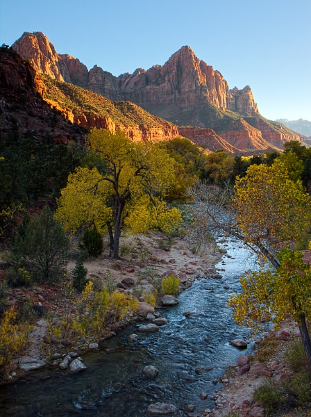 Virgin River at Sunset by Phil_Bird