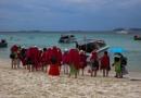 Tourists - Coral Island, Pattaya by Swarnadip