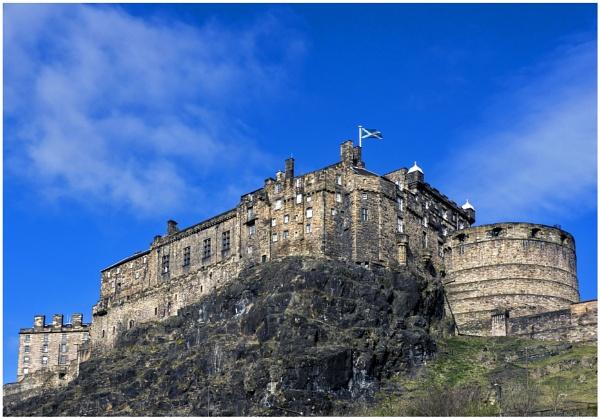 Edinburgh Castle by mac