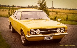 Ford Cortina GT.