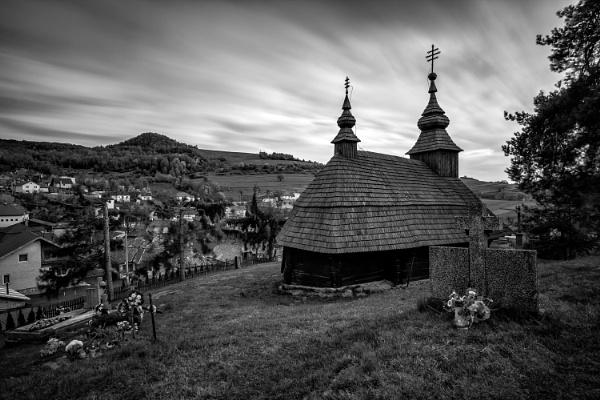 Wooden tserkva Inovce by marek100