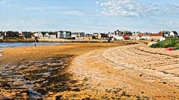 The Beach at Elie.
