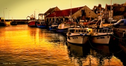 Eventide at Pittenweem Harbour.
