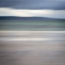 Storm ahead at Nairn beach.