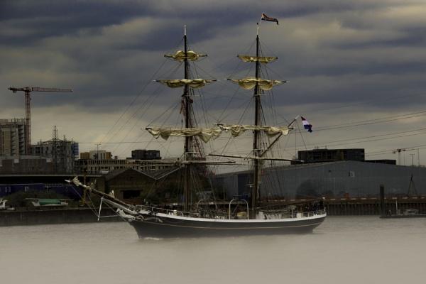 Tall ship at Greenwich