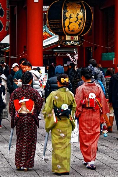 Kyoto Kimonos by alandeja