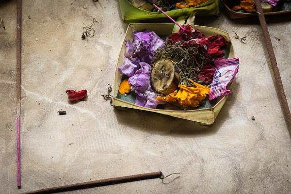 Bali offerings by LCE