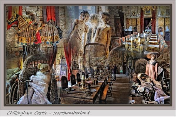 Chillingham Castle Montage by PhilT2