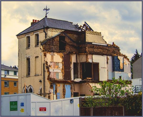 Wood Street demolition by estonian