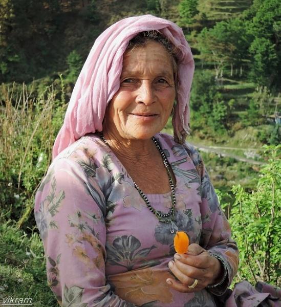Indian rural women by Bantu
