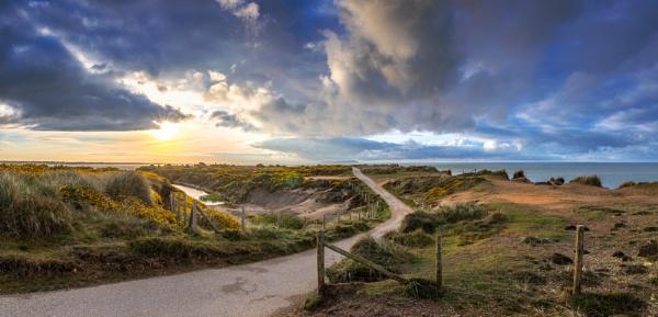 Hengistbury Panorama by NickLucas