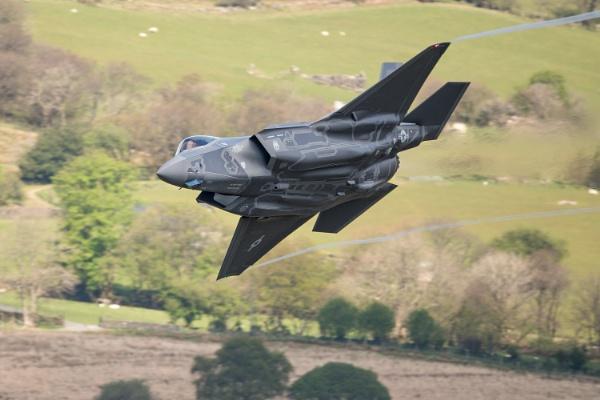 F35 Mach Loop by John_Wannop