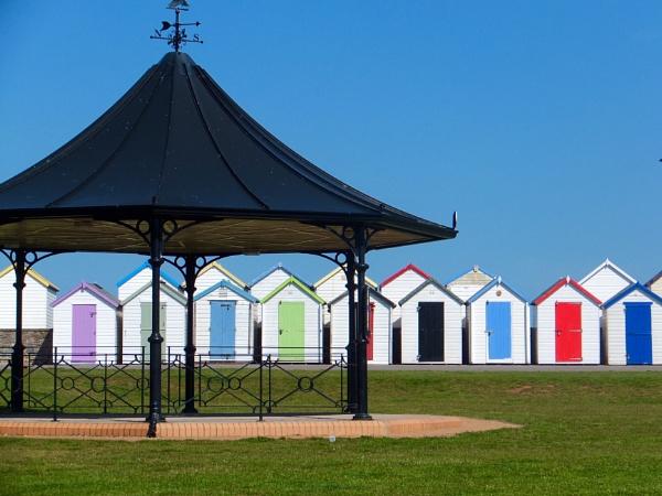 Beach huts by JemimaGay