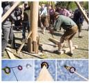 Raising the Maypole ( Part III). by bliba