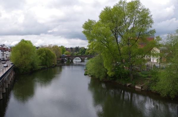 Shrewsbury riverscape by Kako