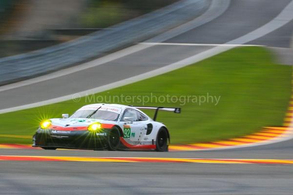 #92, Porsche 911 RSR (2017), by Mounters