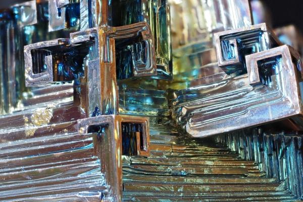 Bismuth Crystals by nclark