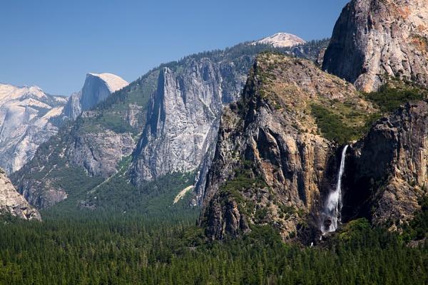 Yosemite waterfall by Phil_Bird