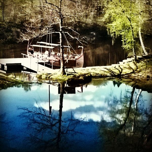 Koknese - viking boat by uldisl
