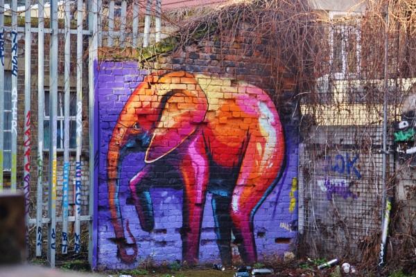 The elephant & the donkey... by Chinga