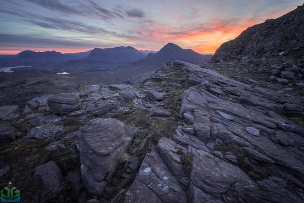 Sgorr Tuath Dawn by jamesgrant