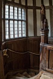 Tudor Stairs, Leeds Castle