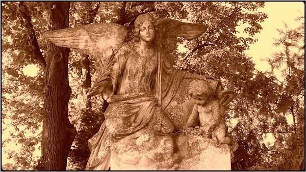 graveyard angel by FabioKeiner