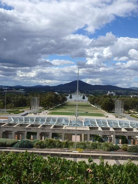 Looking towards the war memorial by artgaz1062