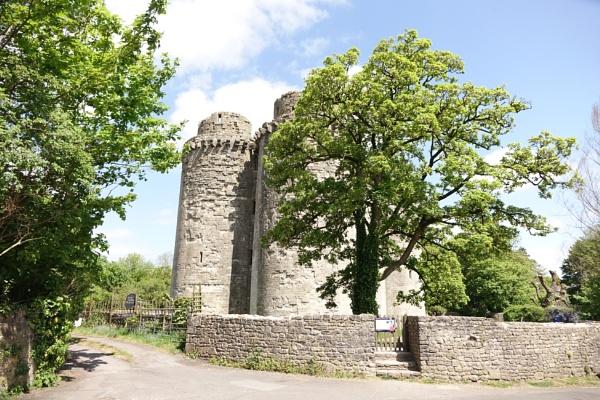 Nunney Castle by frogs123