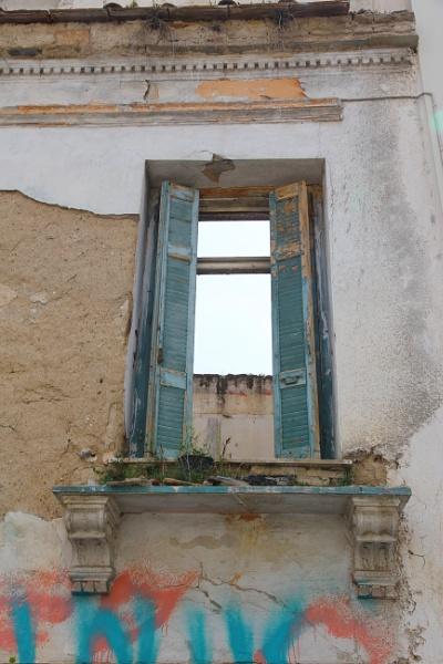 A BALCONY DOOR TO NOWHERE by dimalexa