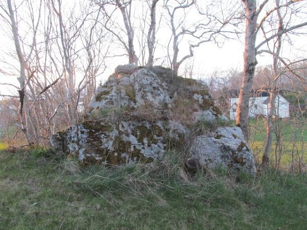 Rock at the farm