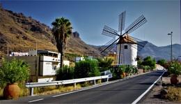Windmill in Sunlight