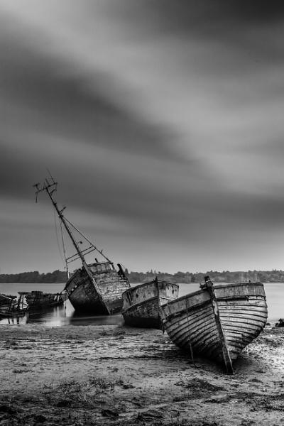 Boat Graveyard by MerseaMillsy
