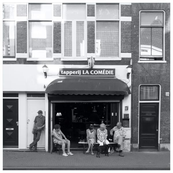 street scene .....some where in Haarlem /The Netherlands by bliba