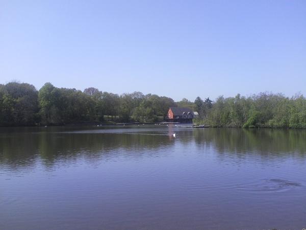 The lake. by Brilane