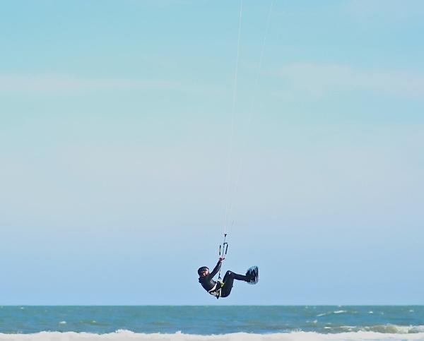 Kitesurfer. by mex