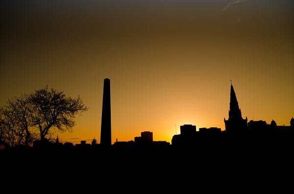 Glasgow skyline by Craigie10