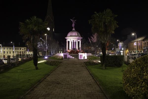 War Memorial in Lurgan, Northern Ireland by s1ngerman