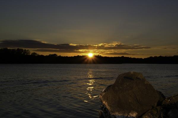 Sunset at Kinnego Marina, Lurgan, Northern Ireland by s1ngerman
