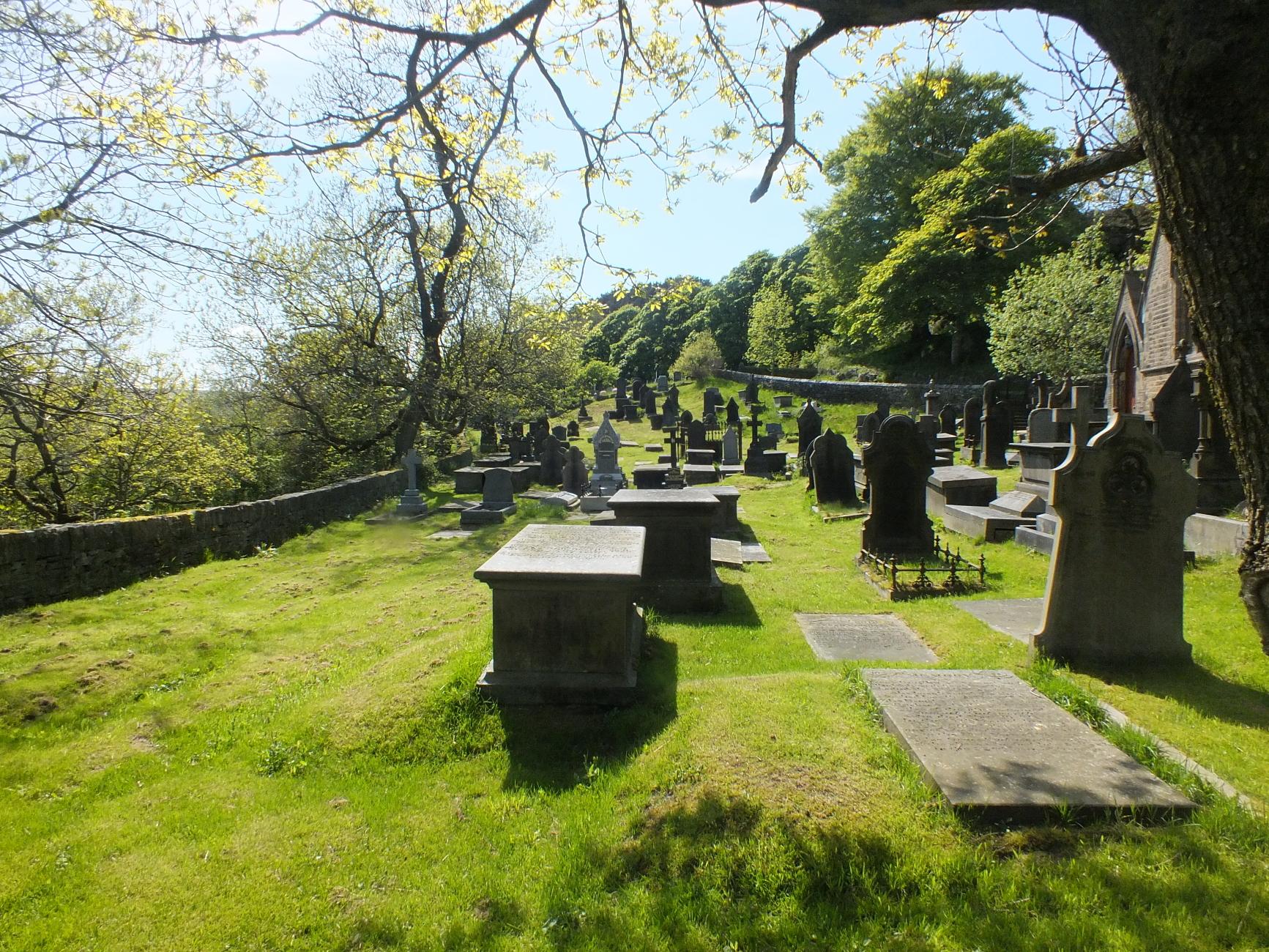 St. Bartholomews cemy, Scammonden, Halifax