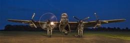 Lancaster firing up