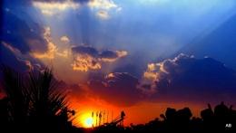 """ CREPUSCULAR SUN-SET """