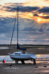 Ravenglass at Sunset