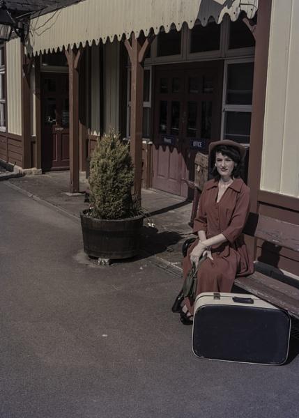 1940s rail shoot 002 by rich0077