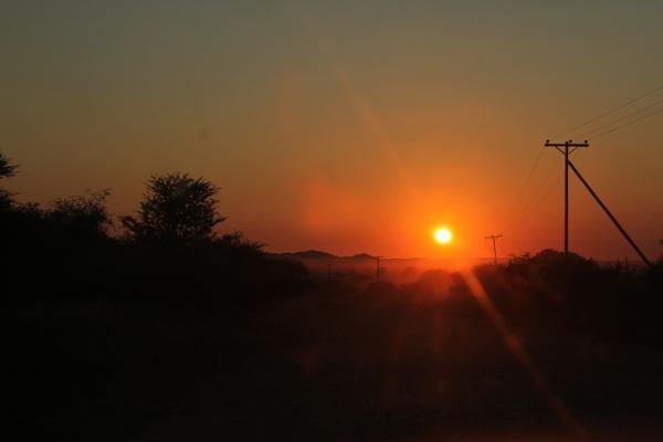 Gulubane Village Sun Rise by spokes