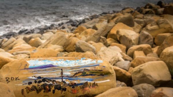 Rock Painting. by biglog